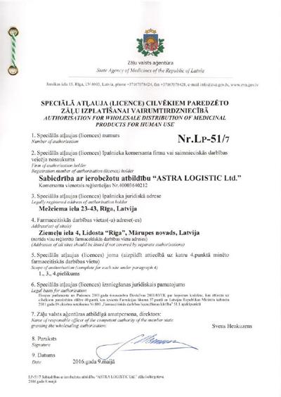 License Rp 51/4